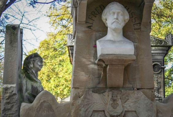 Alfred de Musset : Visite du cimetière du Père Lachaise - Linternaute