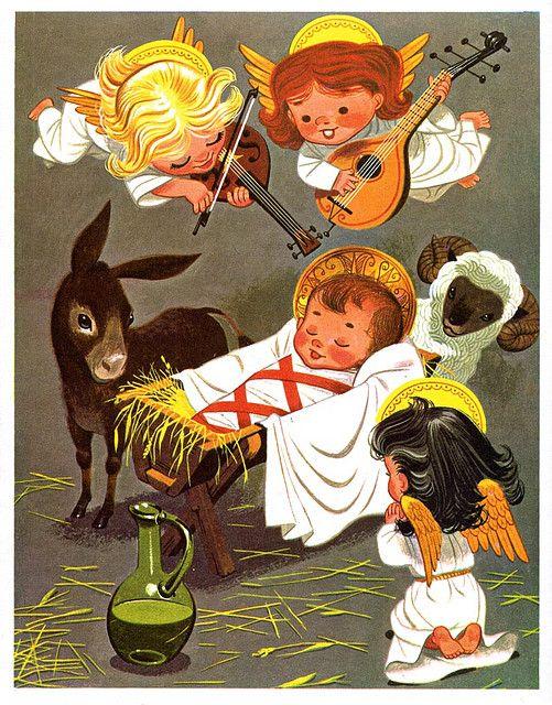 Nativity by Lowell Hess (1957):