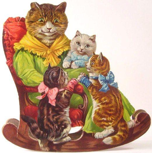 THE THREE LITTLE KITTENS....: