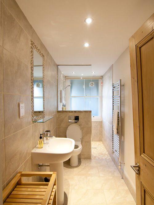Smart Platzierung Schmalen Badezimmer Ideen Schmales Badezimmer