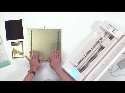 Foil Quill Magnetic Mat Instructional Video By We R Memory Keepers Youtube We R Memory Keepers Memory Keepers Instructional Video
