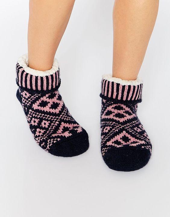 Jack Wills Walderton Slipper Socks