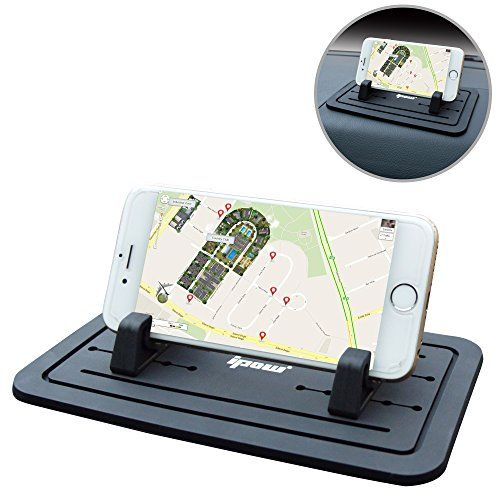 Ipow® New Silicone Pad Non-slip Dash Mat Car Mount Holder Cradle Dock For Phone Samsung S5/S4/S3/iPhone 4/5/5s/6/6S(plus) and GPS,Black Table PC Holder - http://www.computerlaptoprepairsyork.co.uk/mobile-phones/ipow-new-silicone-pad-non-slip-dash-mat-car-mount-holder-cradle-dock-for-phone-samsung-s5s4s3iphone-455s66splus-and-gpsblack-table-pc-holder