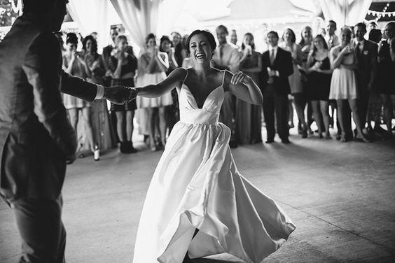 joyful first dance | Paige Jones #wedding: