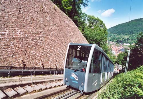 Heidelberger Bergbahnen - Von der Altstadt bis zum Königstuhl - Die Stationen