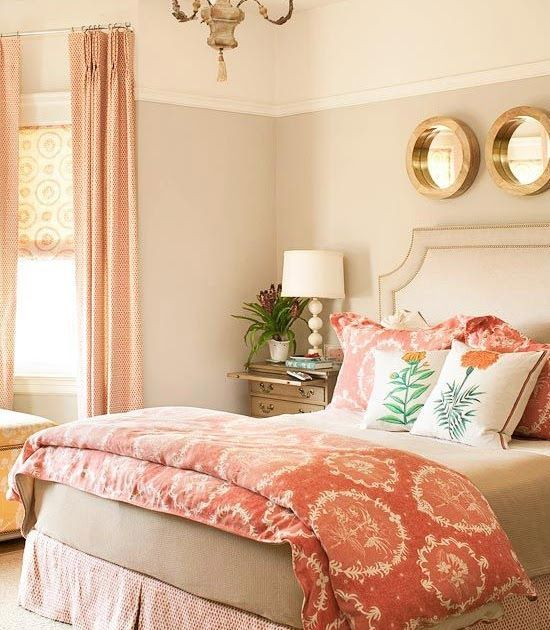 Beautiful Bedrooms In 2019 Coral Bedroom Home Bedroom Tan Bedroom Ideas One Balmoral Tan And White Bedroom Pa In 2020 Coral Bedroom Woman Bedroom Coral Bedroom Decor