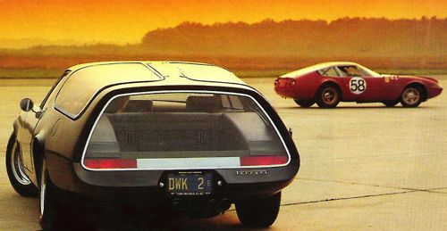 1975 Ferrari 365 GTB/4 Shooting Brake by Panther