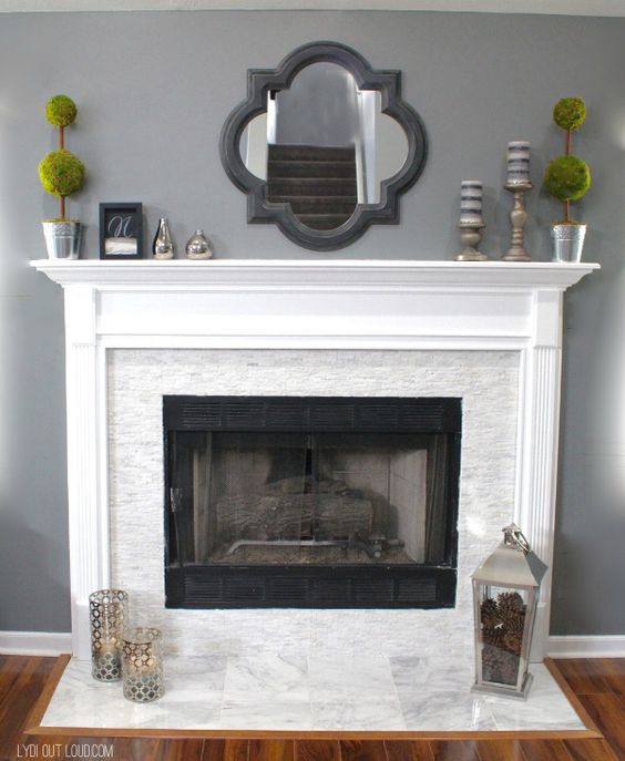 Colors For Bathrooms Fireplaces And Fireplace Makeovers