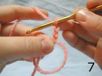 The magic ring...if you crochet and don't know this magic ring trick....pin it and learn!