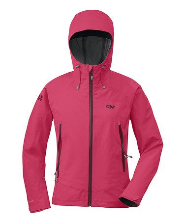 Take a look at this Trillium Paladin Hooded Jacket - Women by Outdoor Research on #zulily today!