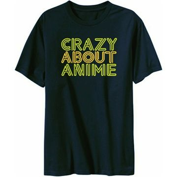 Crazy About Anime T-Shirts