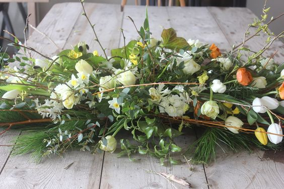 funeral sheaf for a woodland burial