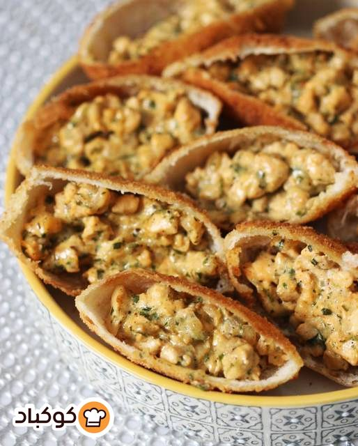 فطائر فم السمكة بالصور من Reem Abu Mailesh Recipe Food Apple Pie Desserts