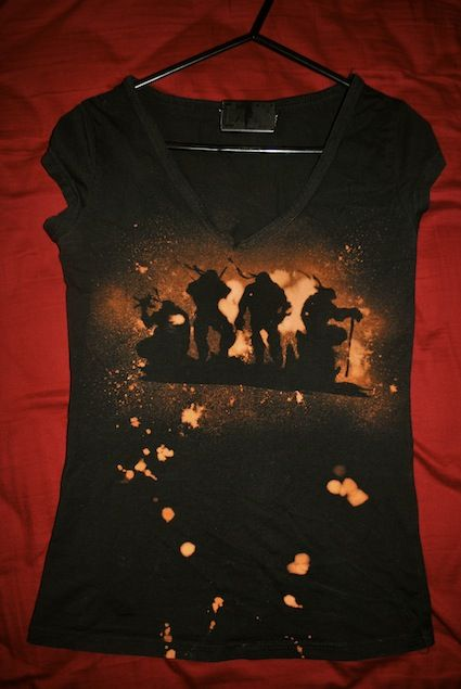 TMNT -Toxic Waste Silhouettes- T-Shirt