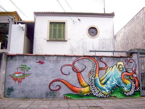 Graffiti octopus 2
