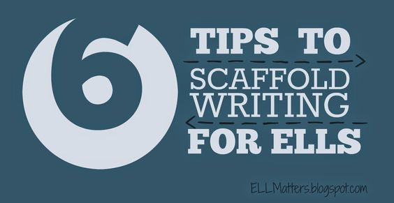 ELL Matters: Six Tips to Scaffolding Writting for ELLs
