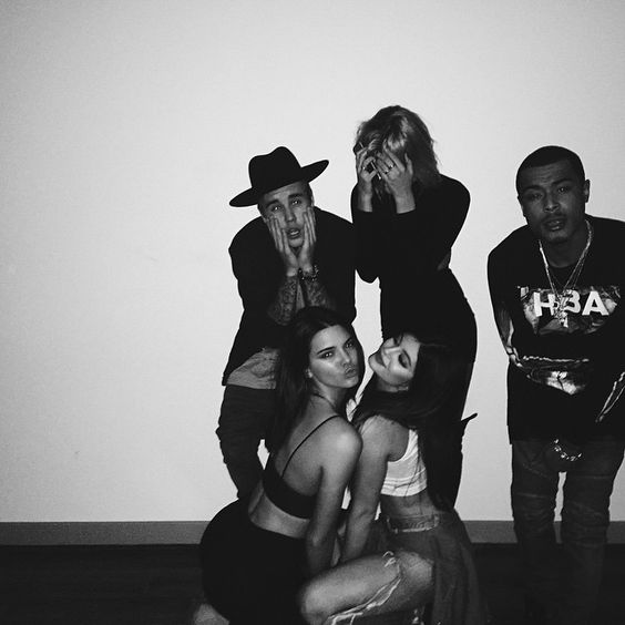 Kendall And Kylie Jenner And Justin Bieber Hailey Baldwin Birthday Party - Kendall Jenner Justin Bieber Hang Out - Seventeen