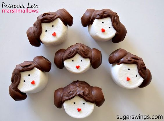 Sugar Swings! Serve Some: Star Wars Marshmallows for May the Fourth be with You