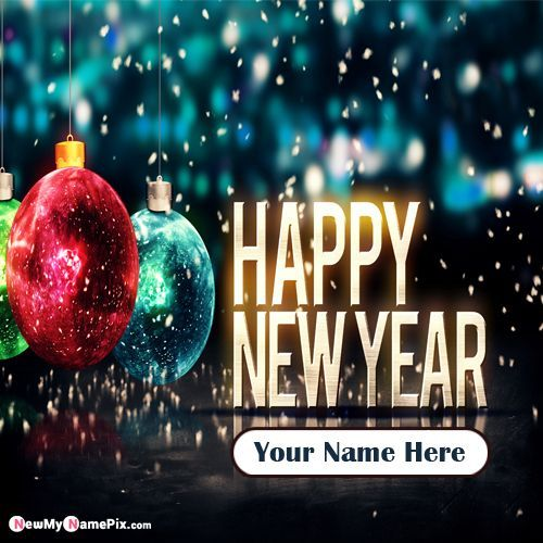 My Name Happy New Year 2020 Greeting Card Create Online Merry Christmas Images Merry Christmas Wishes Merry Christmas Background New year wallpaper with name