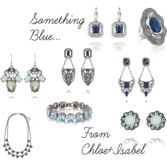 Something Blue..From Chloe+Isabel #somethingblue  looking for some fab gems for your big day? check these lovelies out on my boutique today! https://www.chloeandisabel.com/boutique/ciaosterhouse