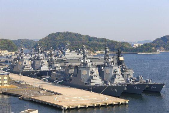 数多くの護衛艦