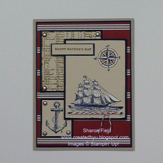 Lisa S Tool Time Father S Day Card: The Open Sea DCBD Fathers' Day Card By Sharonstamps