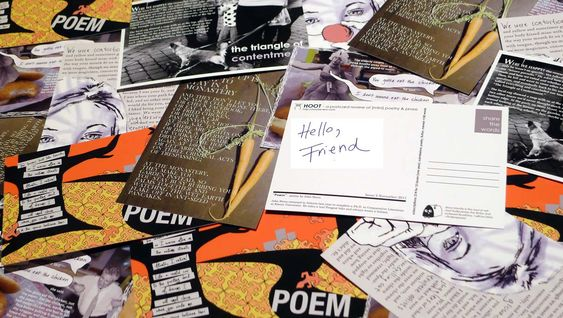 a {mini} literary magazine on a postcard - flash fiction, poetry, memoir, non-fiction, book reviews. Accepting submissions <150 words