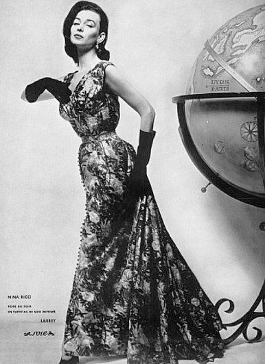 Dorian Leigh 1954 , sister to model Suzy Parker
