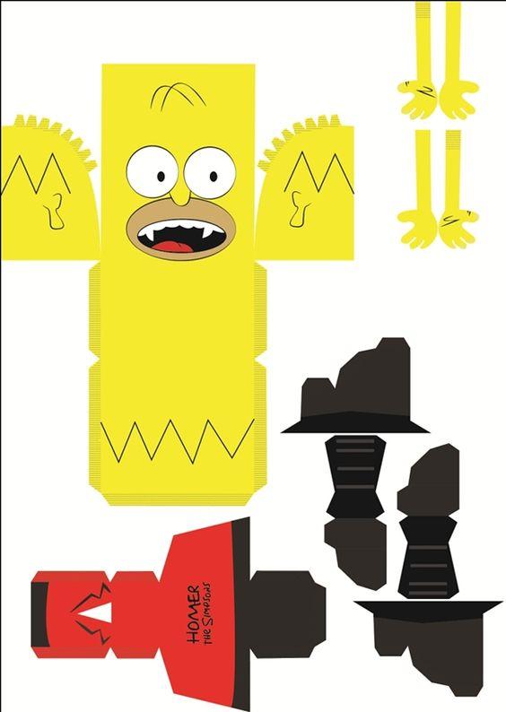 Toy Art Simpsons Halloween on Behance