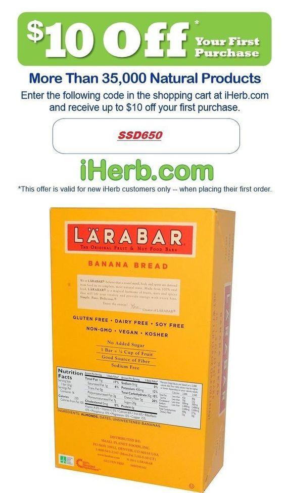 Larabar, Banana Bread, 16 Bars, 1.8 oz (51 g) Per Bar   http://iherb.com/Larabar-Banana-Bread-16-Bars-1-8-oz-51-g-Per-Bar/10516/?p=1  #very quick way to lose weight