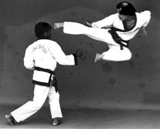 SOO BAHK DO (Korean Marshall Arts), Chow Lai and his brother, Edwin are Black-Belts: