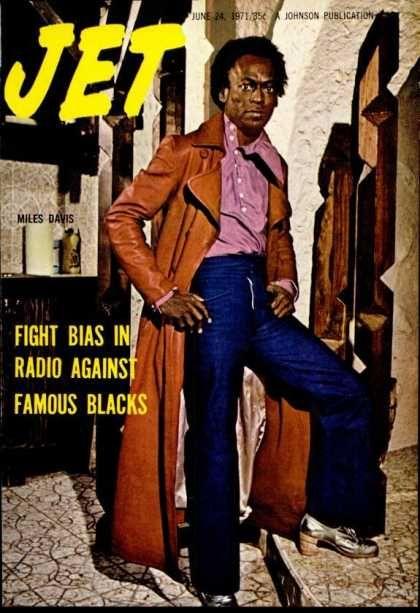 Jet magazine. Miles Davis 1971