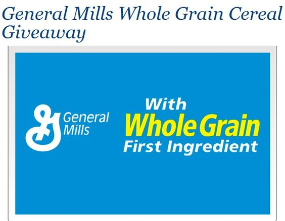 Dr. Oz Giveaway General Mills Cereal  Goes live in less than an hour. Bee ready they go fast!! ;)