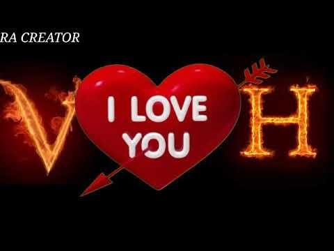 V Love H Whatsapp Status H Love V Whatsapp Status H Letter V Letter Whatsapp Status Youtube Letter V Lettering Letter H Design