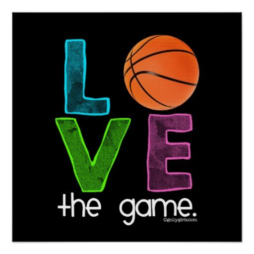 Golly Girls: Basketball - Love the Game Poster