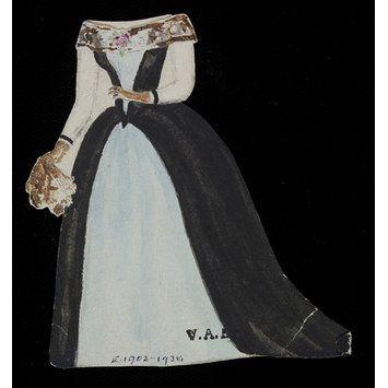 Paper doll dress