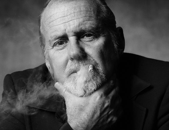 "Choreographer BOB FOSSE  ""Bob With Cigar""  Los Angeles, CA 1986  photo by Norman Seeff"