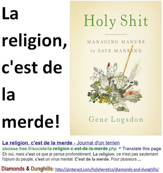 La religion, c'est de la merde.   > > > > Click image!