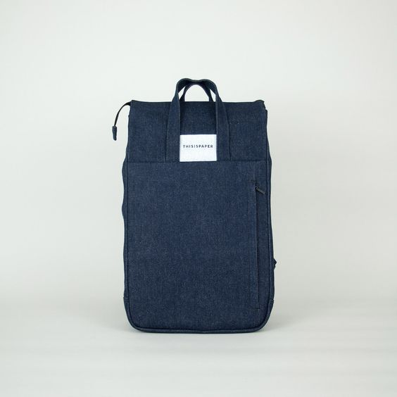 FLASH SALE: Handle Backpack 01 Denim