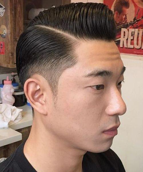 corte de cabelo topete