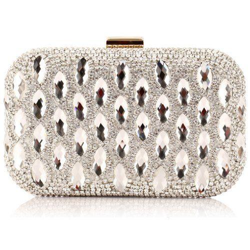ANDI ROSE Luxury PU Leather Rhinestones Designer Clutch Evening Bags Purses Handbags    #ANDI, #Bags, #Clutch, #Designer, #Evening, #Handbags, #Leather, #Luxury, #Purses, #Rhinestones, #Rose