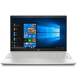Hp Pavilion 15 Touch Laptop Intel I5 8gb Ram 256gb Ssd Qvc Com