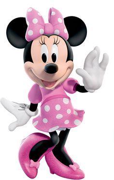 Montando minha festa: Minnie rosa e preto                              …