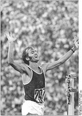 1976 Waldemar Cierpinski (Allemagne de l'Est) JO de Montréal Canada