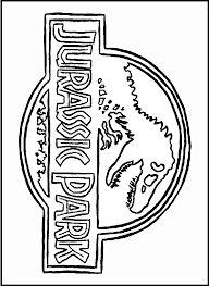 Malvorlagen gelschreiber and f rben on pinterest for Puerta jurassic world