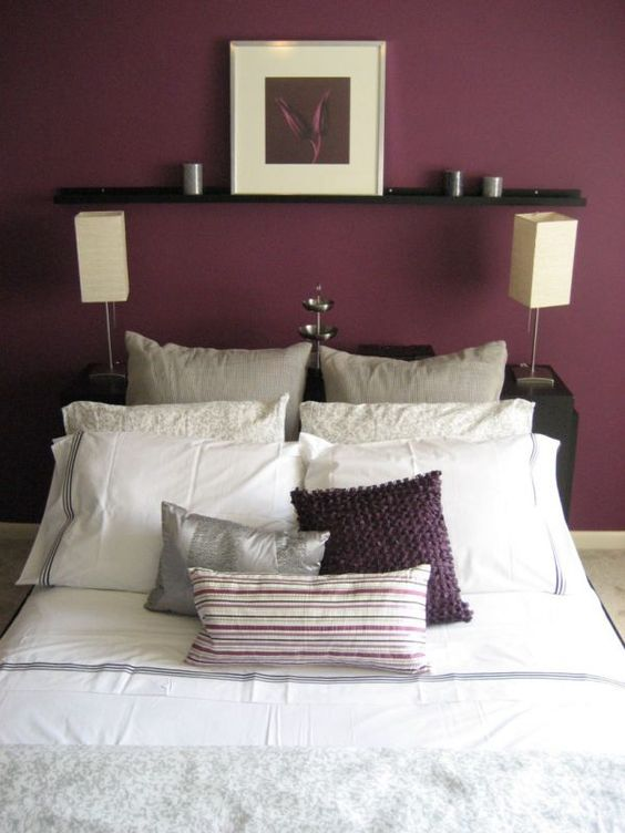 plum colored bedroom one day i will have a plum colored wall