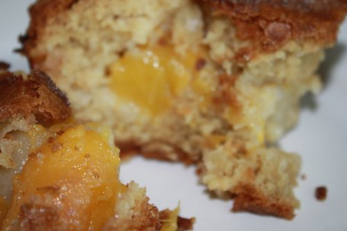 Peach and Nectarine Kugel....what is Kugel? I have no idea, but this ...