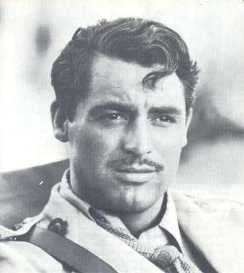 cary grant - a la Clark Gable?