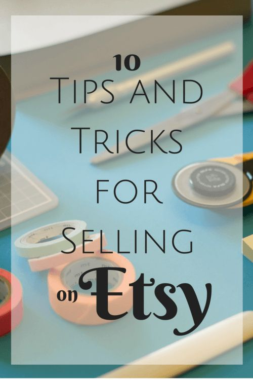 10 Tips and Tricks for Selling on Etsy   Getting Your Products Noticed and Making the Most of Your Online Shop