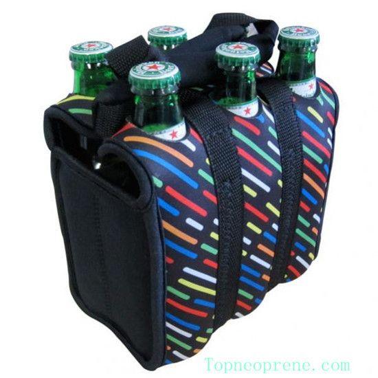 Denver Broncos 6-Pack Beverage Bands